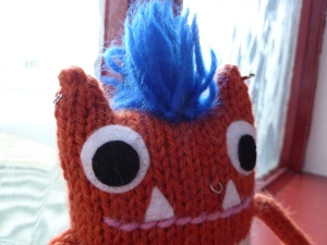 Punk Beastie, by CrawCrafts Beasties
