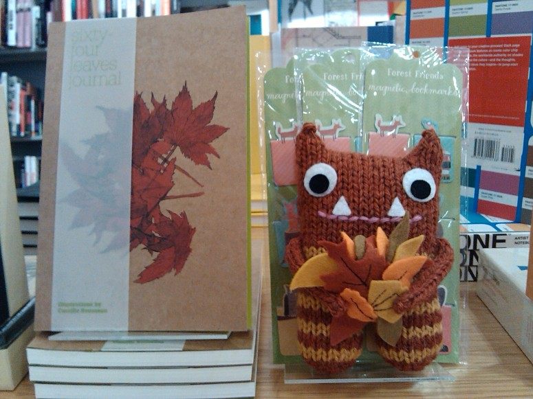 Autumn Leaves Beastie, by CrawCrafts Beasties