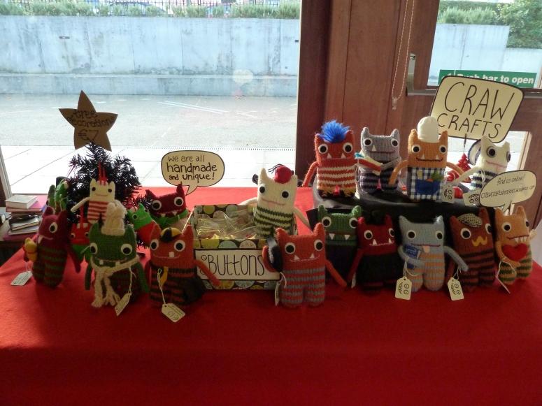 My Craft Fair Stall - CrawCrafts Beasties