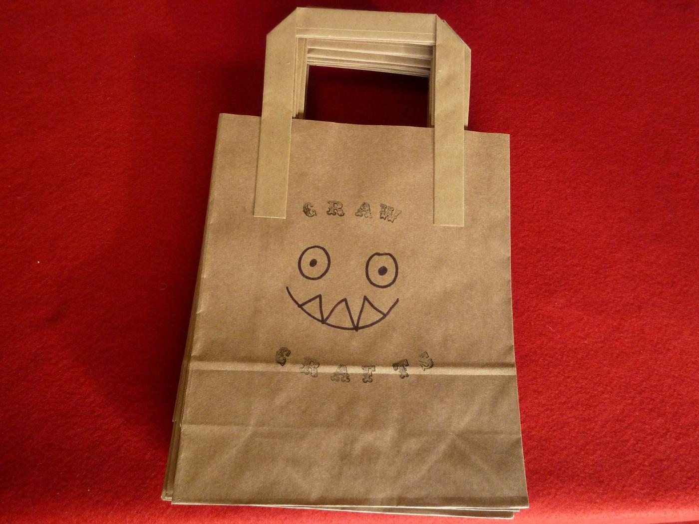 Carrier Bags - CrawCrafts Beasties
