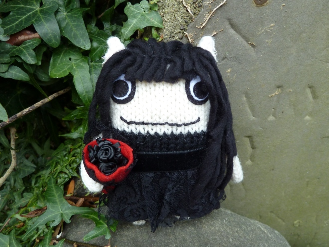 Goth Beastie, by CrawCrafts Beasties
