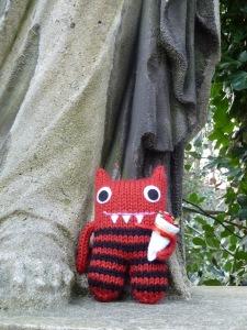 Red Valentine Beastie