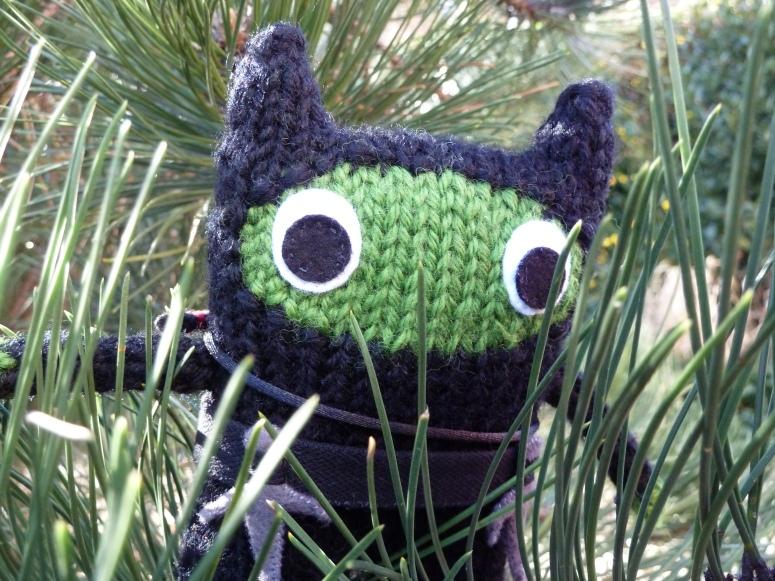 Ninja Beastie, by CrawCrafts Beasties