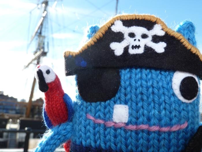 Pirate Beastie, by CrawCrafts Beasties