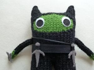 Ninja Beastie Sai