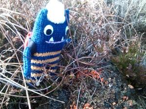 Explorer Beastie with Lichen