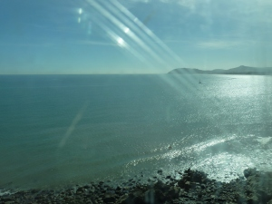 Bray Head from the train