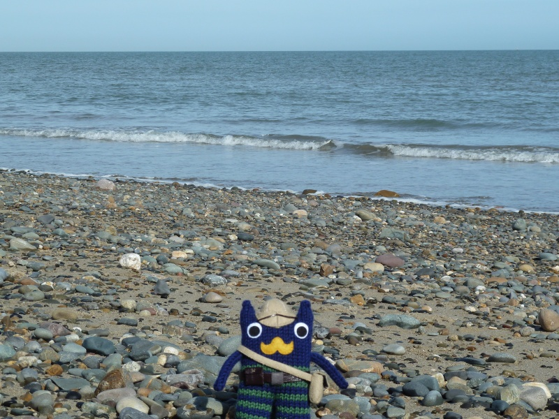 Victorian Explorer Beastie on the Beach