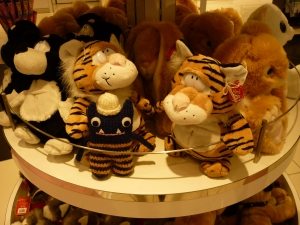 Explorer Beastie With Tigers