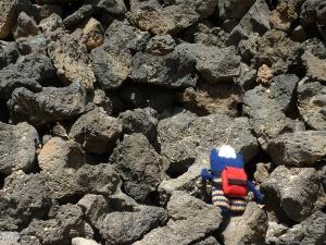 Beastie Climbing Lava