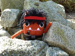 Rambo on the Rocks