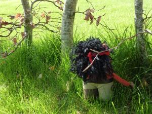 Rambo Beastie in the Woods