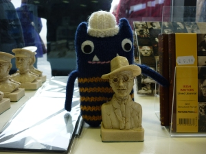 Explorer Beastie with James Joyce