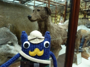 Explorer Beastie with Irish Wolfhound