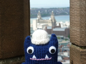 Explorer Beastie in Liverpool