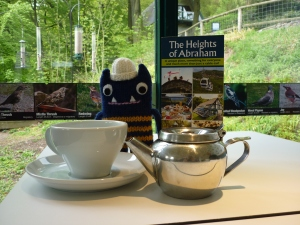 Teatime at the Heights of Abraham