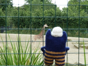 Explorer Beastie with Giraffe