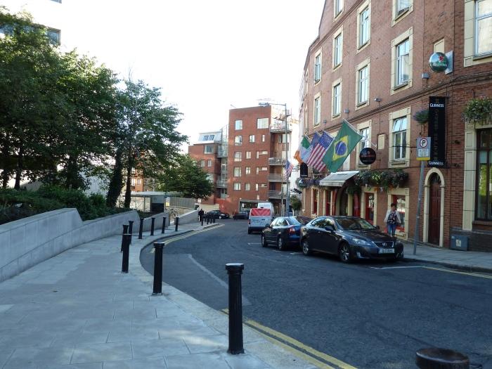 Curve in Fishamble Street