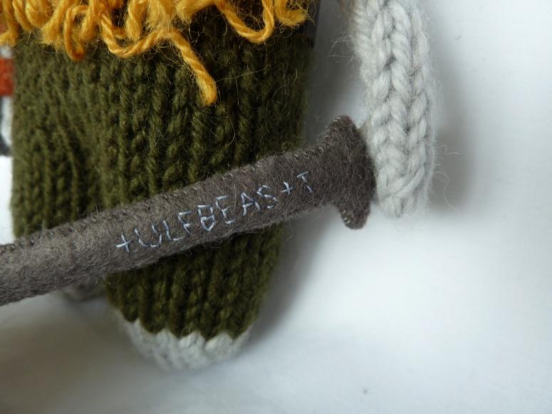 Viking Beastie Sword
