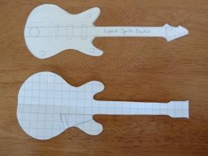 Beastie Guitar Templates