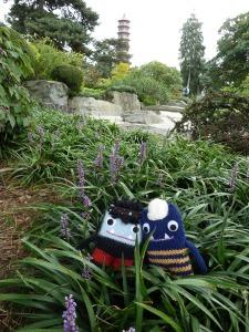 Beasties at the Zen Garden