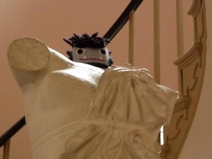 Garcia Beastie Statue Closeup