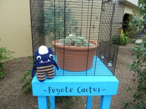 Explorer Beastie with Hallucinogenic Cactus