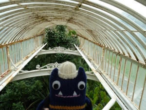 Explorer Beastie at the Palm House
