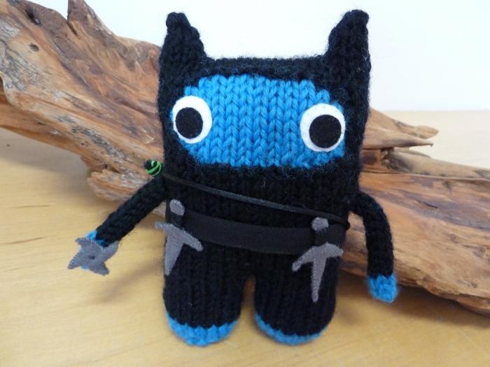 Blue Ninja Beastie