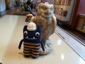 Explorer Beastie with Owl