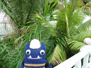 Explorer Beastie in the Palm House