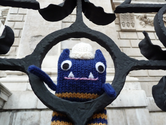 Explorer Beastie at St Paul's Cathedral