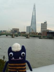 Explorer Beastie and the Shard