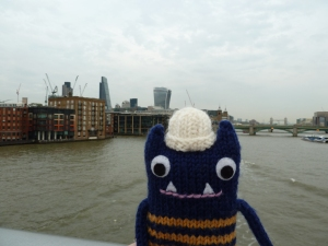 Explorer Beastie, the Cheese Grater and the Walkie Talkie