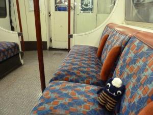 Explorer Beastie on the Tube