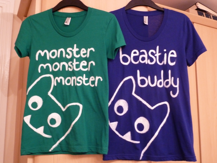 Beastie T-shirts - CrawCrafts Beasties