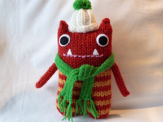 Winter Beastie by CrawCrafts Beasties