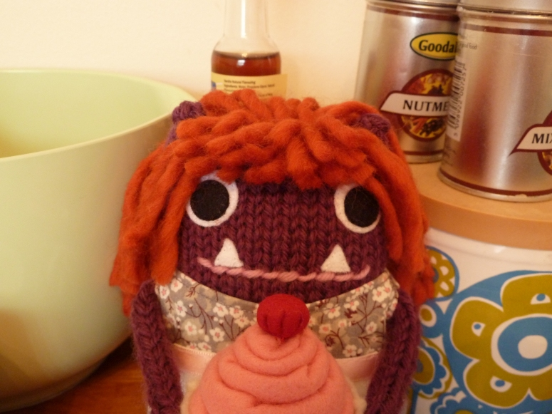 Baker Girl Beastie's Beautiful Face, by CrawCrafts Beasties