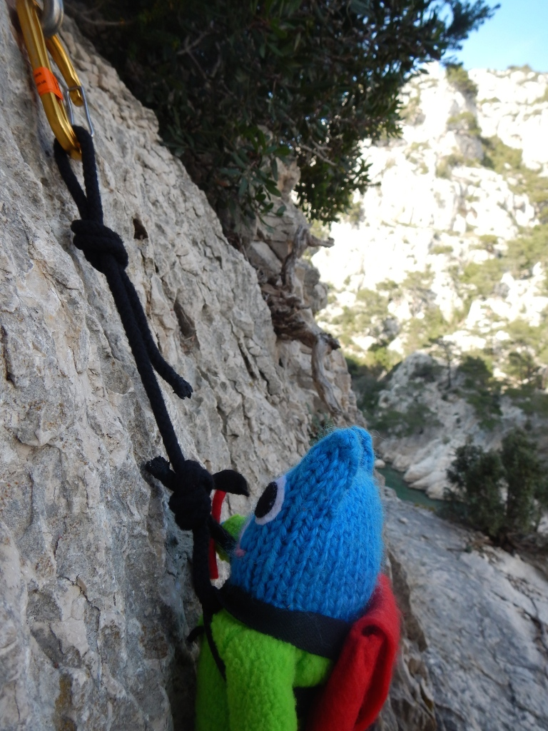Climber Beastie Gets Going - J Donaldson/CrawCrafts Beasties