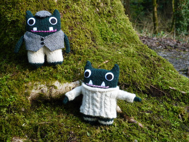 Paddy & Plunkett by CrawCrafts Beasties/Heather Crawford