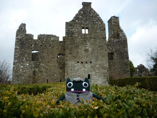 Plunkett at Tully Castle - CrawCrafts Beasties/Heather Crawford