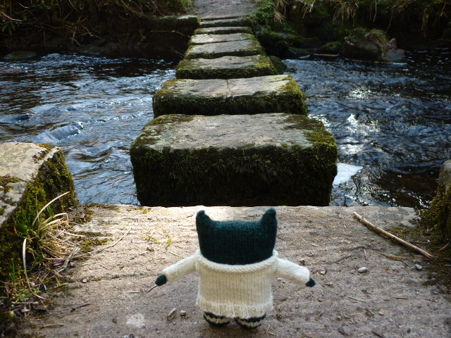 Paddy at the River - CrawCrafts Beasties/Heather Crawford