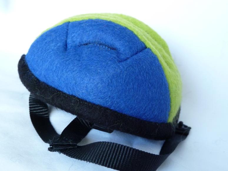 Cyclist Beastie's Helmet by CrawCrafts Beasties