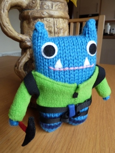 Climber Beastie Outfit by CrawCrafts Beasties