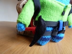 Climber Beastie's Climbing Axe - CrawCrafts Beasties