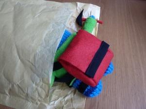 Climber Beastie sets off! (CrawCrafts Beasties)