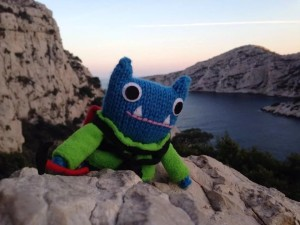 Climber Beastie by CrawCrafts Beasties