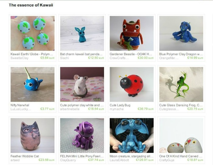 Etsy Treasury - The Essence of Kawaii by Terra K Chi