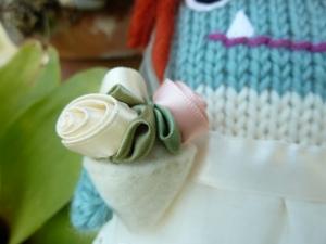 Bride Beastie's Bouquet - CrawCrafts Beasties