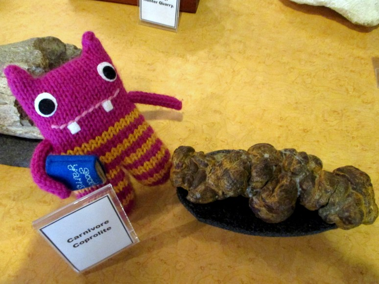Reader Beastie with some dino poo - N Couture/CrawCrafts Beasties